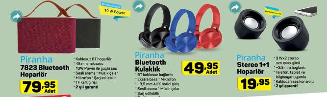 Bluetooh Hopalör, Kulaklık ve Dahası