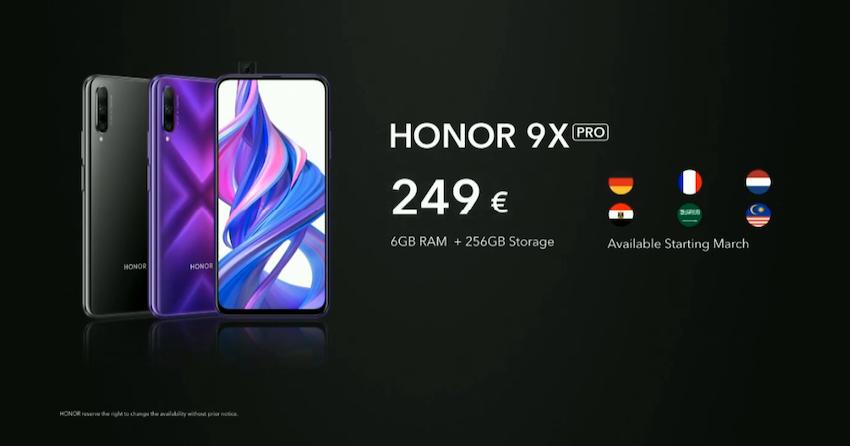 Honor 9X Pro Fiyatı