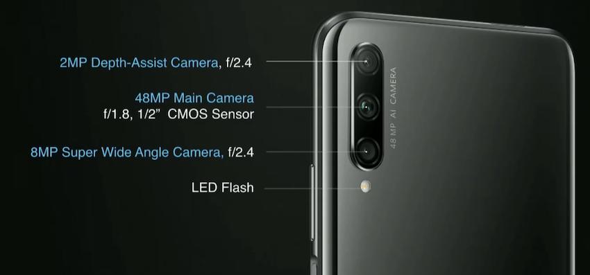 honor 9x pro kamera özellikleri