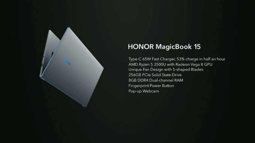 Honor MagicBook 15 Özellikleri