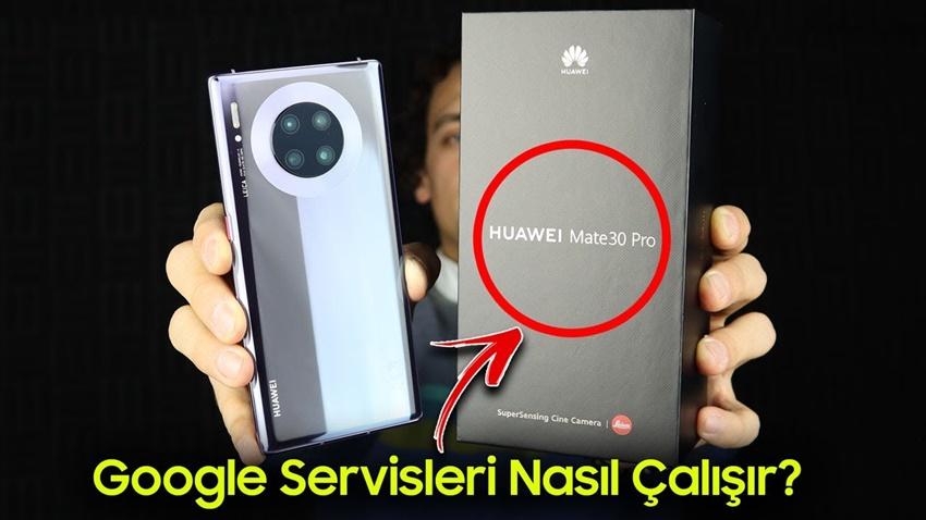 Huawei Mate 30 Pro Kutu Açılımı - Mate 30 Pro'ya Google Servisleri Nasıl Kurulur