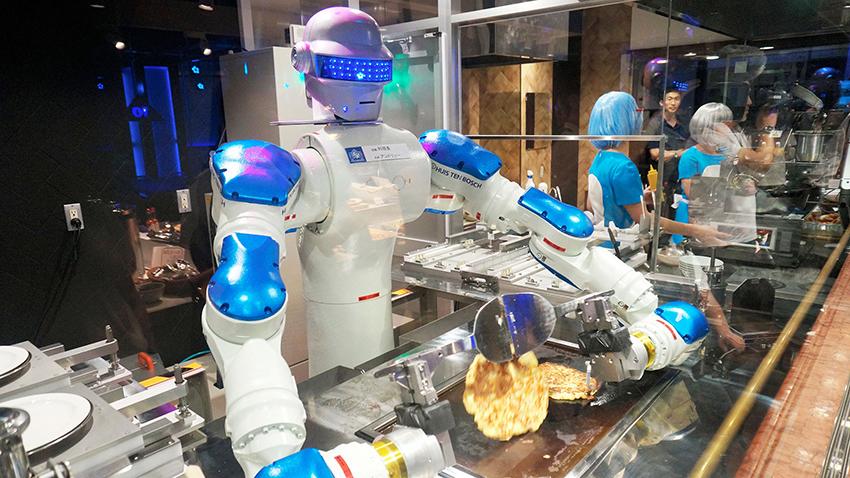 İnsanlar Yerine Robotlar mı Çalışacak
