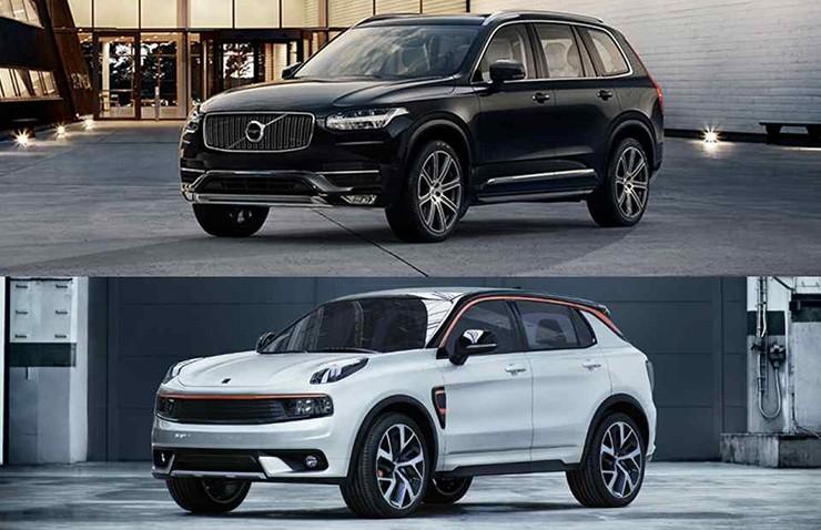 Volvo ve Geely