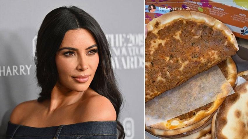 Kim Kardashian Lahmacun Paylaşımı