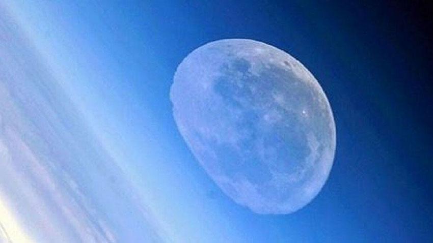 Roskosmos Eriyen Ay Görüntüsü