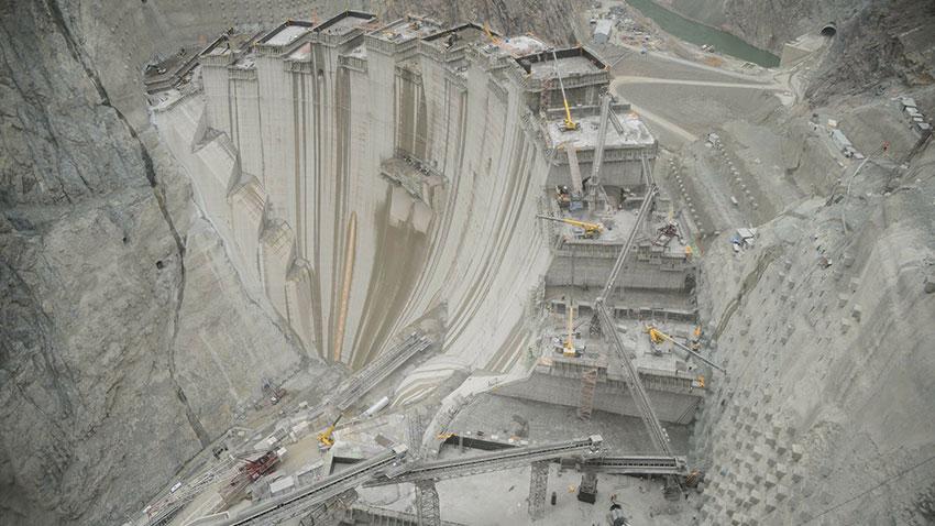 Türkiye En Yüksek Baraj Yusufeli 1