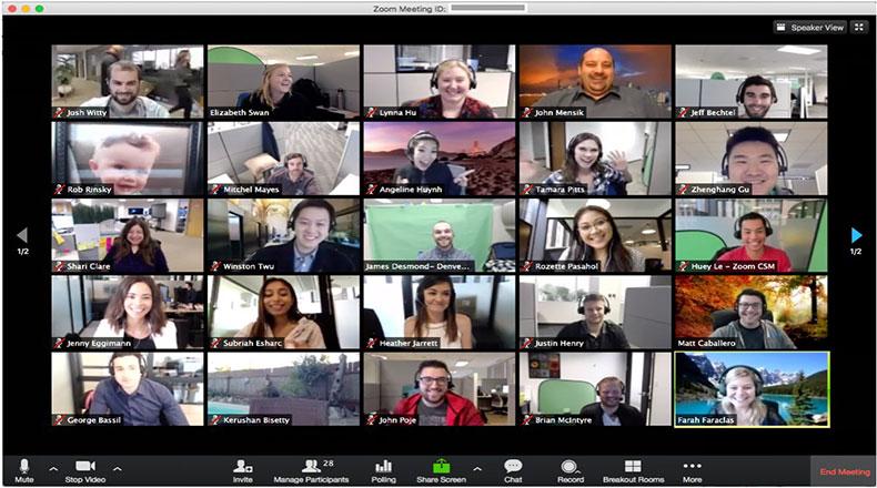 Zoom Online Toplantı Uygulaması 2