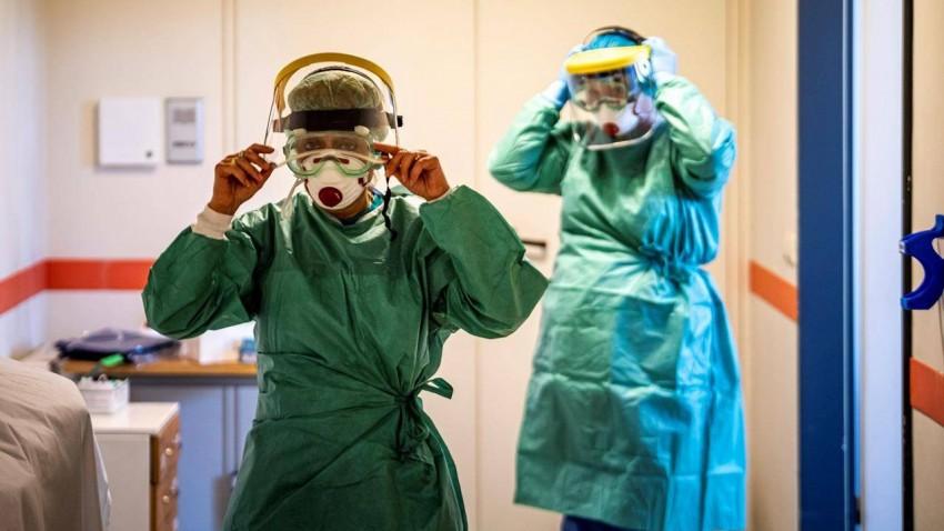 koronavirüs gerçek yüzü italya hastane videosu