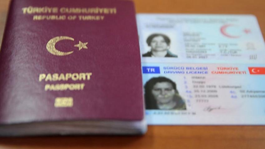 yeni kimlik ehliyet pasaport
