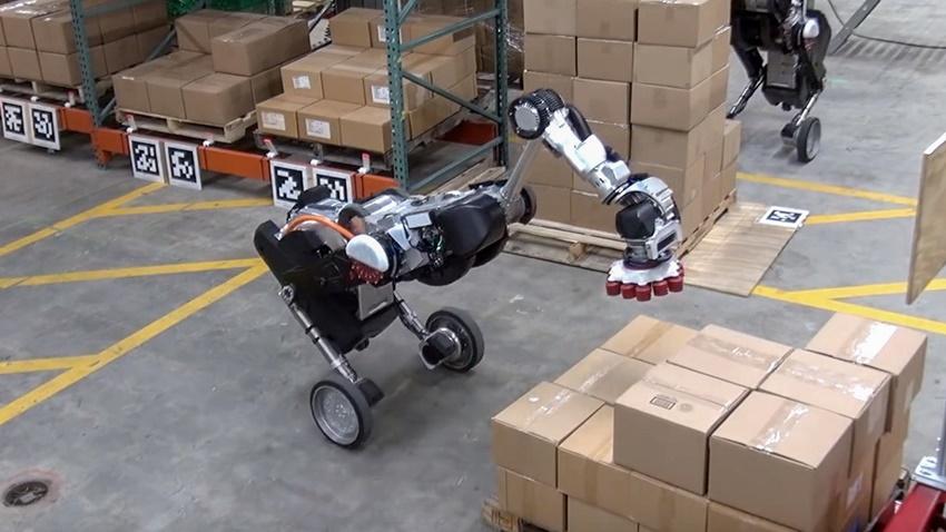 Depolarda Robotlar Çalışacak