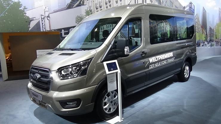 Elektrikli Ford Transit