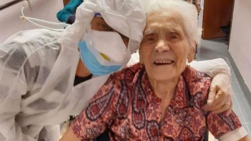 104 Yaşında Corona Virüsü Yendi