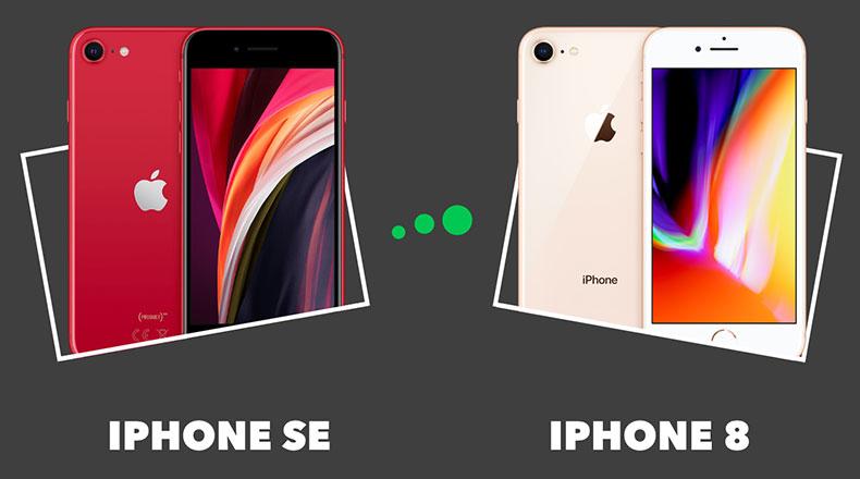 iPhone8 iPhone SE 2