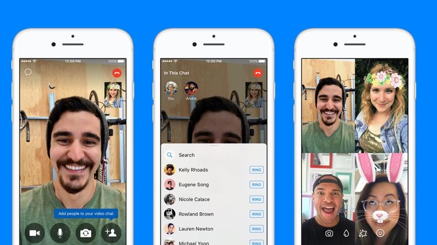 Instagram birden fazla kişiyle görüntülü konuşma yapma