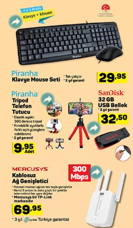 Klavye Mouse, Ağ Genişletici ve Dahası