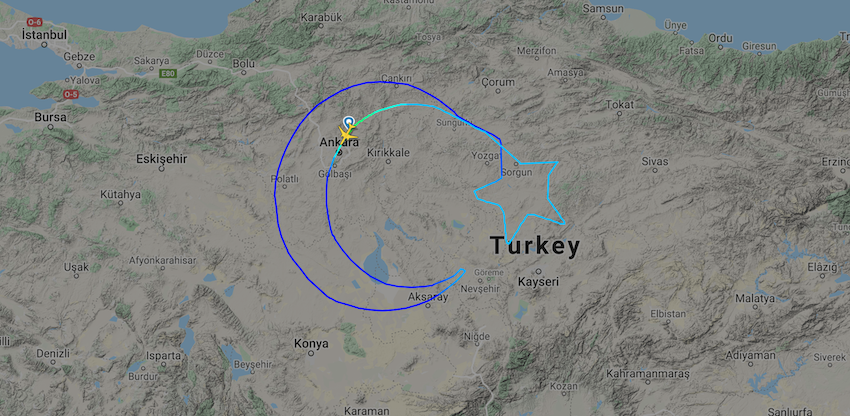THY, Dünyanın En Büyük Türk Bayrağını Gökyüzüne Çiziyor!1