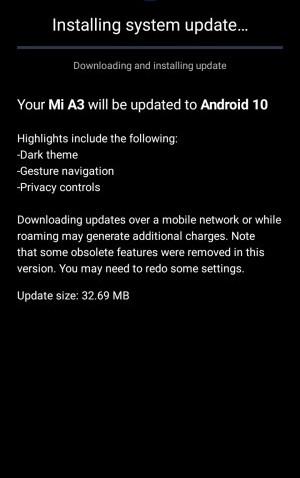 xiaomi-mi-a3-yeni-android-10-guncellemesi-cikti