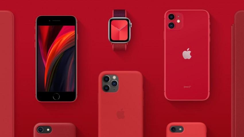 Apple (Product) Red Ürünleri Covid-19 ile Mücadeleye Destek Olacak