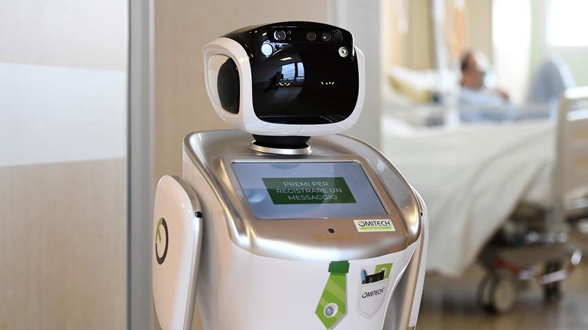 Robotlar İtalya'da Görev Almaya Başladı