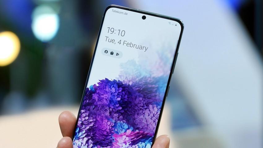 Samsung Galaxy S20 Ultra Yeşil Ekran Sorunu
