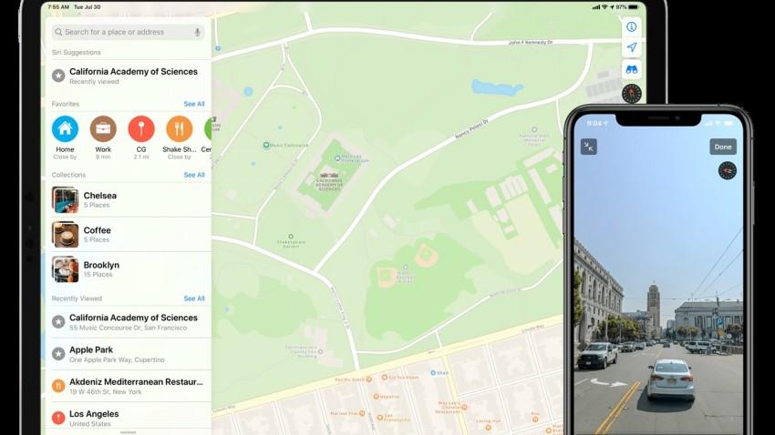Apple Haritalar Sağlık Kuruluşlarının Yerini Gösteriyor
