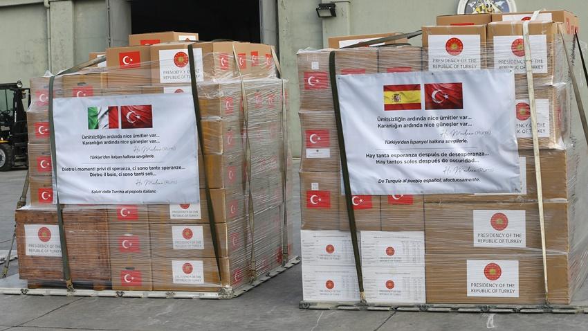 Türkiye'den Balkanlar'a Corona Virüsüyle Mücadelede Destek