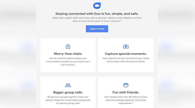 Google Duo Görüntülü Görüşme 2