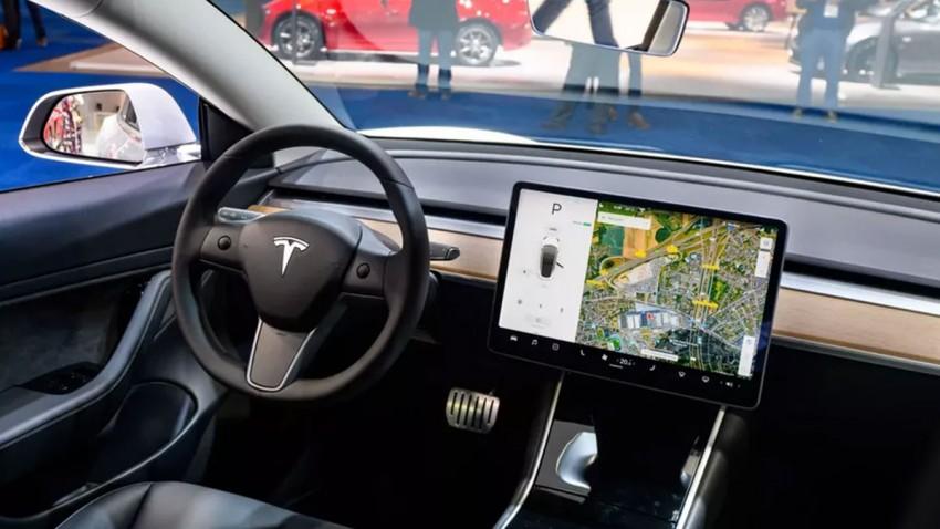Tesla Görüntülü Görüşme Özelliği 1