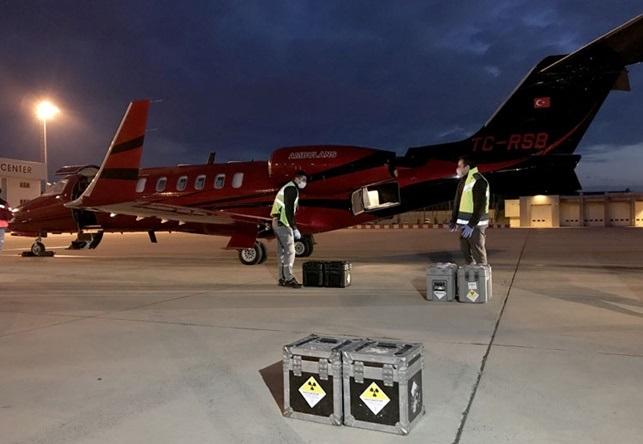 Radyoaktif Ürünler AmbulansUçakla Taşındı