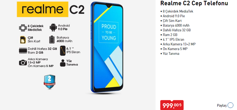 realme-c2