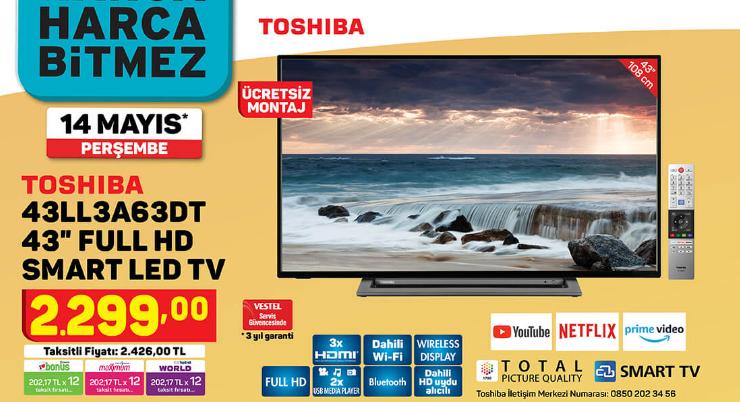 toshiba-43ll3a63dt-43-full-hd-smart-led-tv