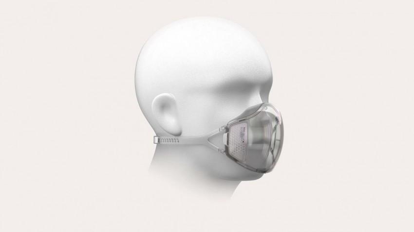 Huami Face ID ile Çalışan ve Kendini Dezenfekte Eden Maske Geliştiriyor