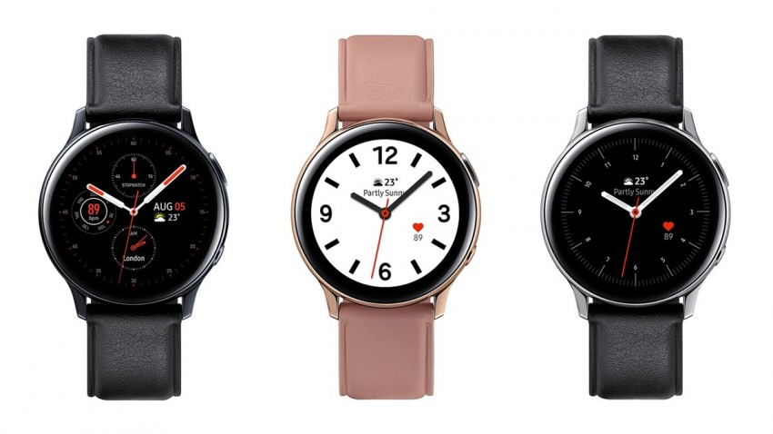 Samsung Galaxy Watch Active 2 EKG Özelliğine Kavuştu