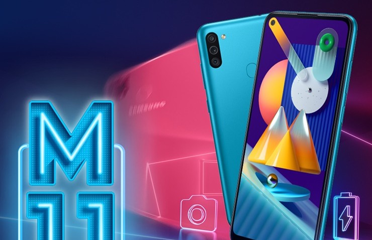 Samsung Galaxy M11 Turkiye için Satışta