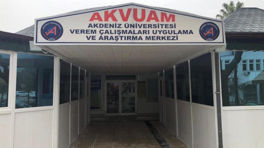 Türkiye'nin İlk Verem Araştırma Merkezi Akdeniz'de Kuruldu