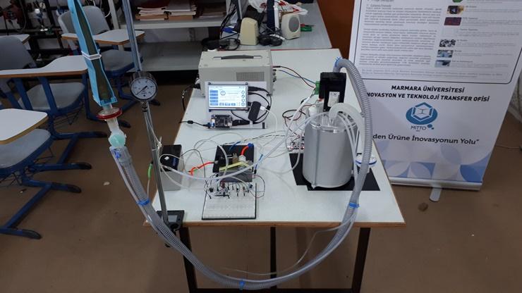 Taşınabilir Yerli Solunum Cihazı Geliştirildi