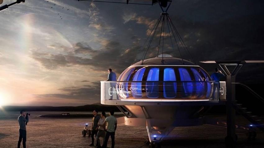 Balonla Uzaya Çıkmak Mümkün Olacak -2
