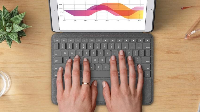 İşte Logitech Combo Touch -1