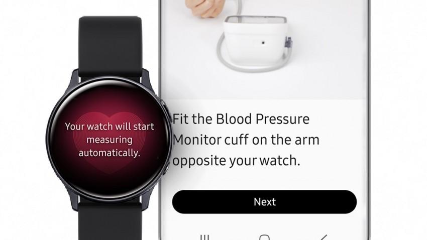 Samsung Galaxy Watch Active 2 Tansiyon Ölçümü Özelliğine Kavuştu -2