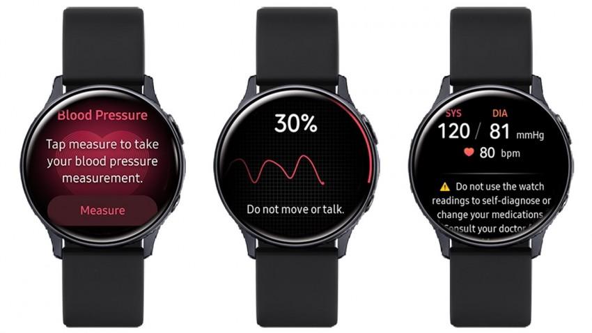 Samsung Galaxy Watch Active 2 Tansiyon Ölçümü Özelliğine Kavuştu -1