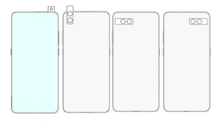 Xiaomi 'Dönen Kameralı' Garip Telefon Patenti Aldı -3
