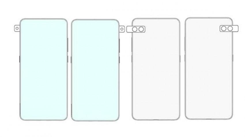 Xiaomi 'Dönen Kameralı' Garip Telefon Patenti Aldı -2