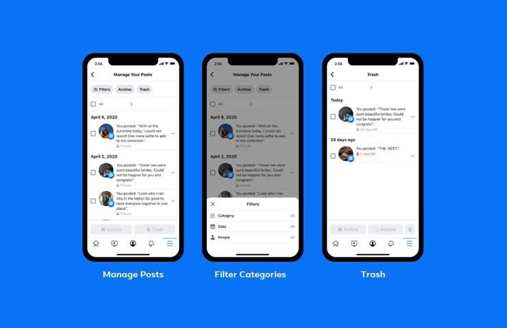 Facebook Yeni Ozellikle Eski Paylasimlar Kolaylikla Silinebiliyor