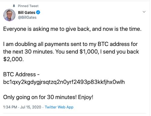 Ünlü Twitter Hesapları Hackleniyor! Bitcoin Dolandırıcılığına Dikkat