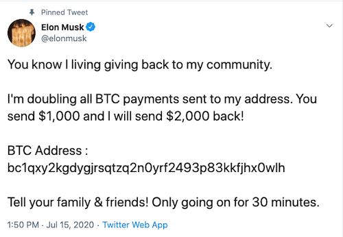 Ünlü Twitter Hesapları Hackleniyor! Bitcoin Dolandırıcılığına Dikkat2
