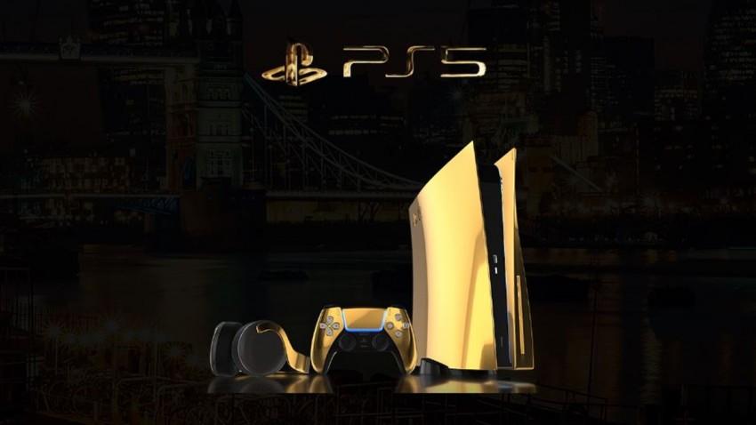 Altın Kaplama PlayStation 5 Duyuruldu! -1