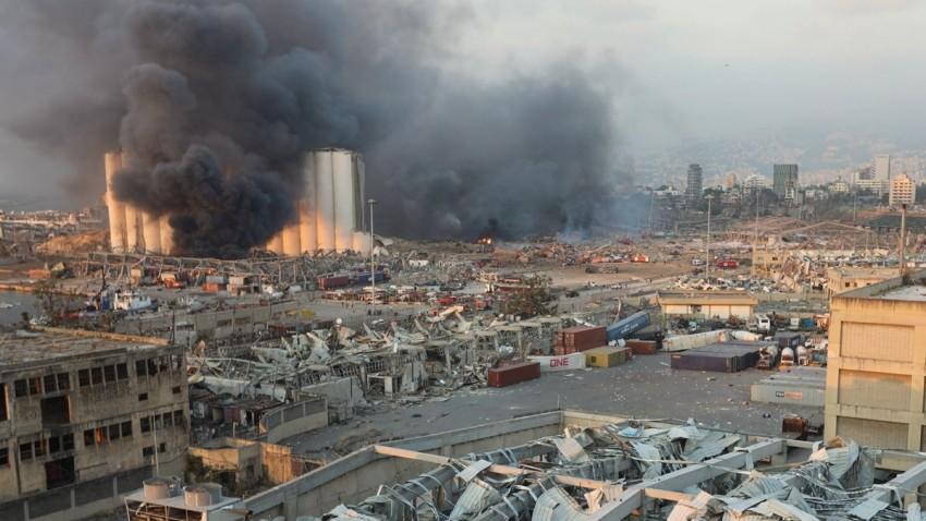 Lübnan'daki Patlama Dış Müdahale ile Gerçekleşmiş Olabilir -1