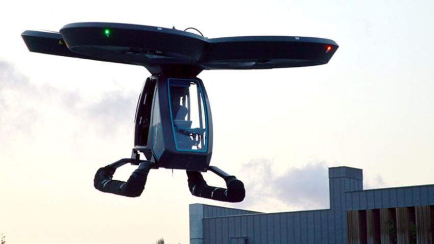 Yerli Uçan Araba Cezeri İlk Kez Havalandı - Tamindir