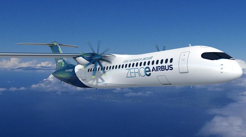 Airbus Hidrojenle Çalışan Sıfır Emisyonlu Konsept Uçaklarını Duyurdu -  Tamindir