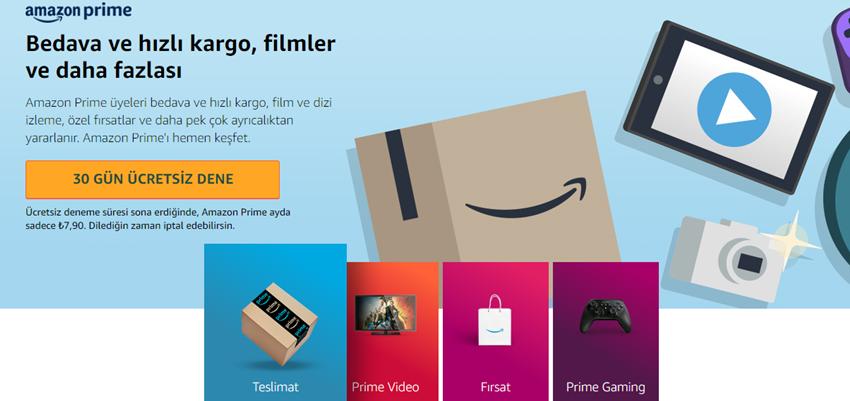 Amazon Prime Türkiye Fiyatı2